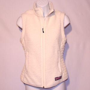 Vineyard Vines Cream Vest XS